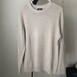H&M Beige Knit Sweater